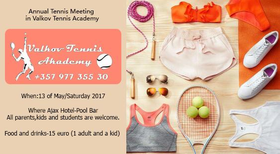 Annual Tennis Meeting