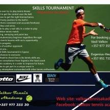 Tennis Skills Tournament by Valkov Academy