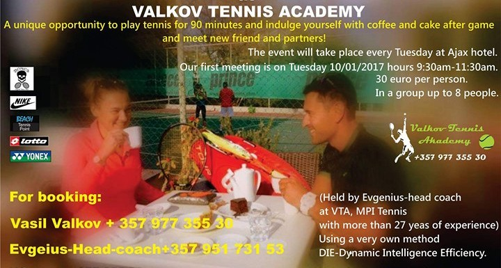 Ladies morning at Valkov Tennis Akademy